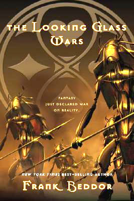 8th Grade is reading The Looking Glass Wars by Frank Beddor